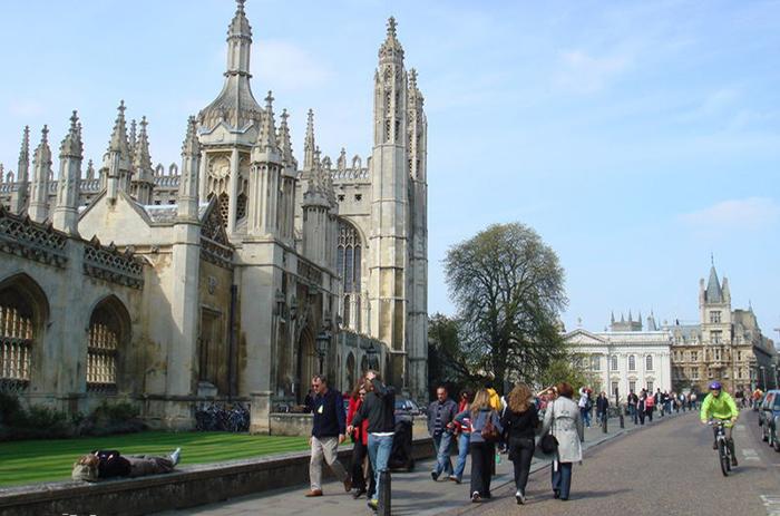 剑桥大学校景2