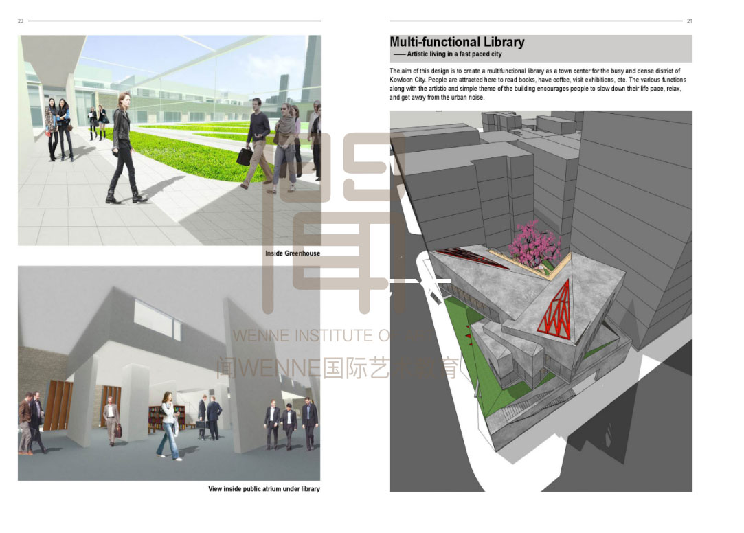 19留学建筑设计作品19