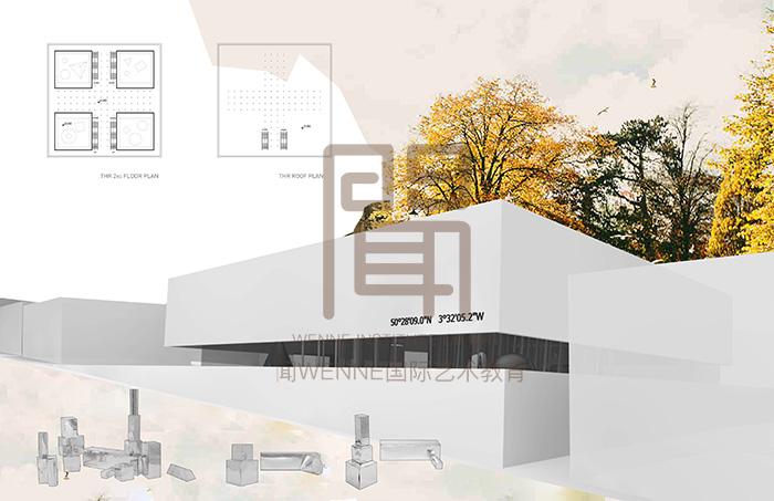 建筑设计留学作品集2